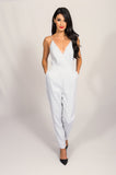 Finders Keepers Black & White All Time High Jumpsuit