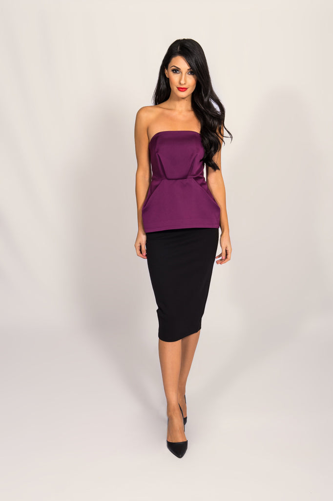 Cameo Purple Play With Fire Bustier