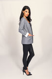 Bardot Bravo Grey Suit Jacket