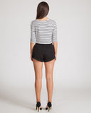 Fifth Label Every Morning Short-Black