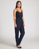 Finders Keepers As It Again Jumpsuit-Navy