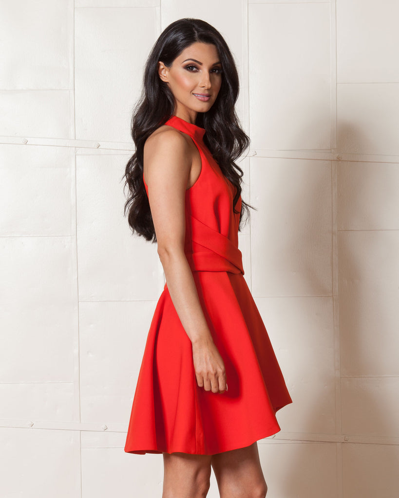 Cameo Breaking Hearts Red Dress
