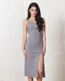 Minkpink Grey Static Maxi Dress