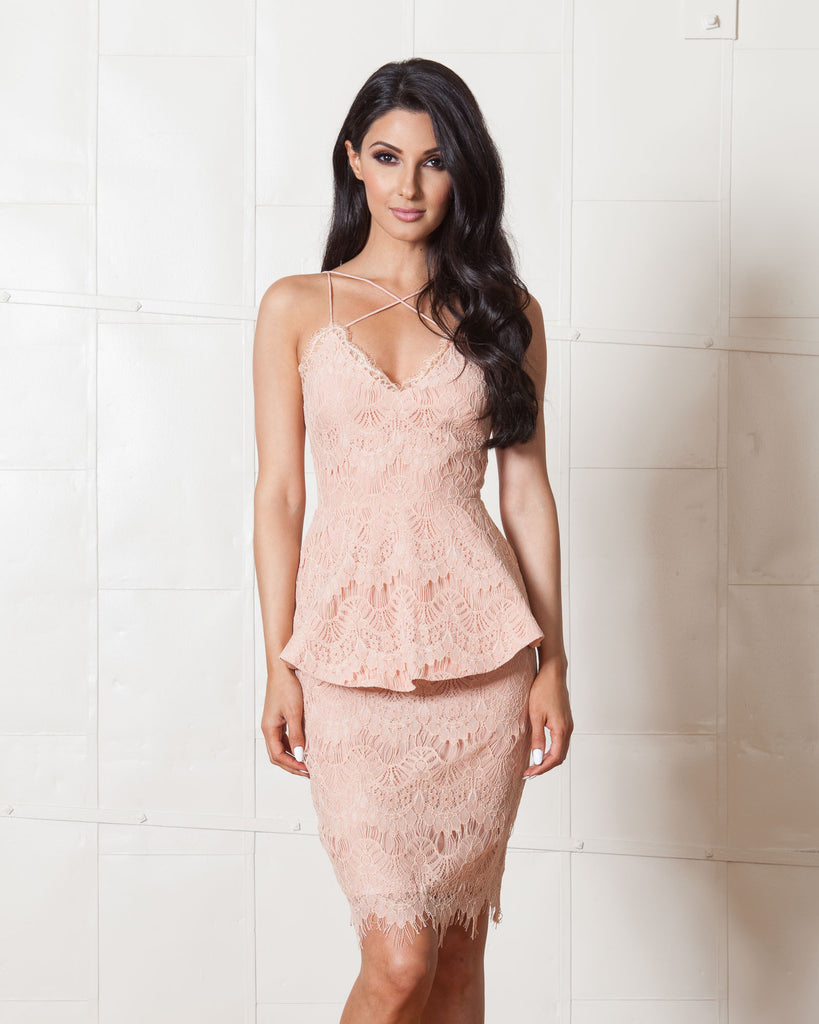 Stylestalker Blush Mermaid Elliot 2 Piece Set