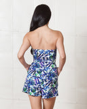 Wilde Heart Tropicana Blue Romper