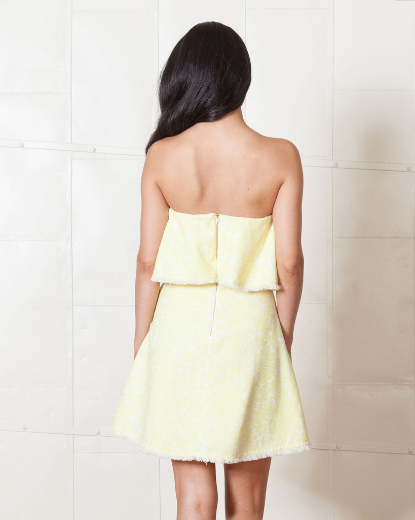 Line & Dot Yellow Jasper Dress