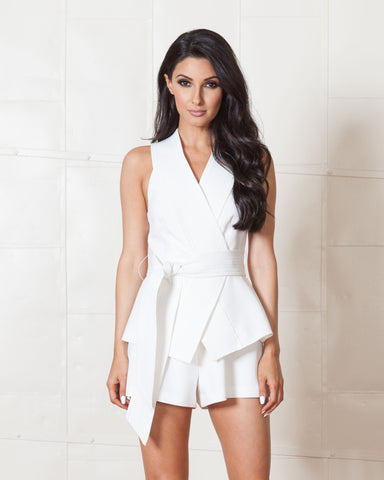 Keepsake Navy Night After Night Playsuit