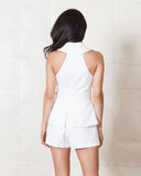 Cameo Ivory Wrap It Up Playsuit