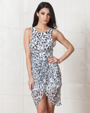 Finders Keepers Leopard Stranger In Paradise Dress