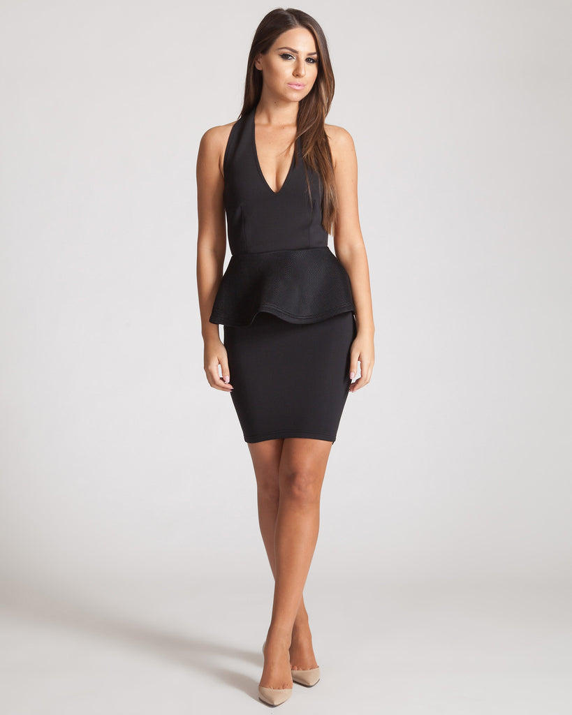 Asilio The Paradox Dress-Black