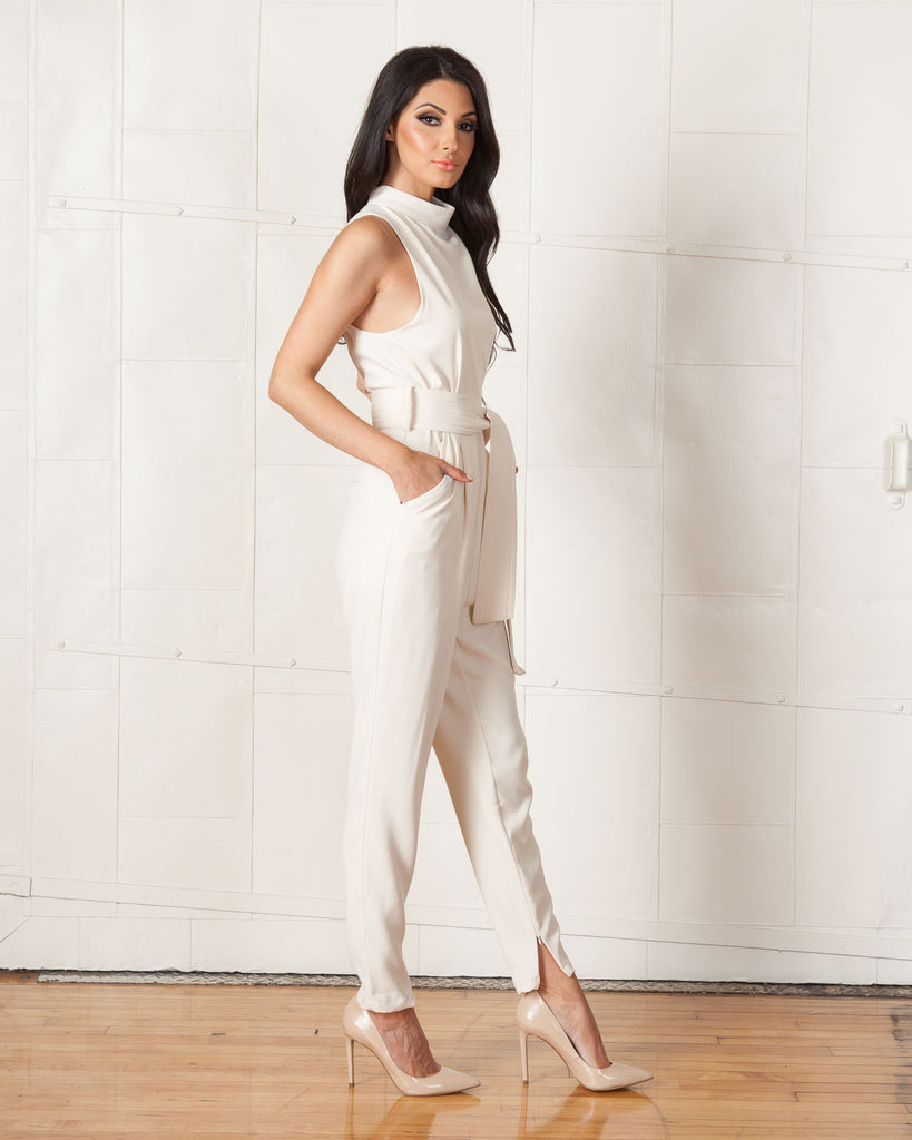 Cameo Nude Chicago Pantsuit