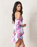 Asilio Floral Monster's Ball Dress