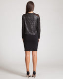 Line & Dot Monroe Black Sequin Top