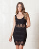 Saylor Charley Black Lace Dress