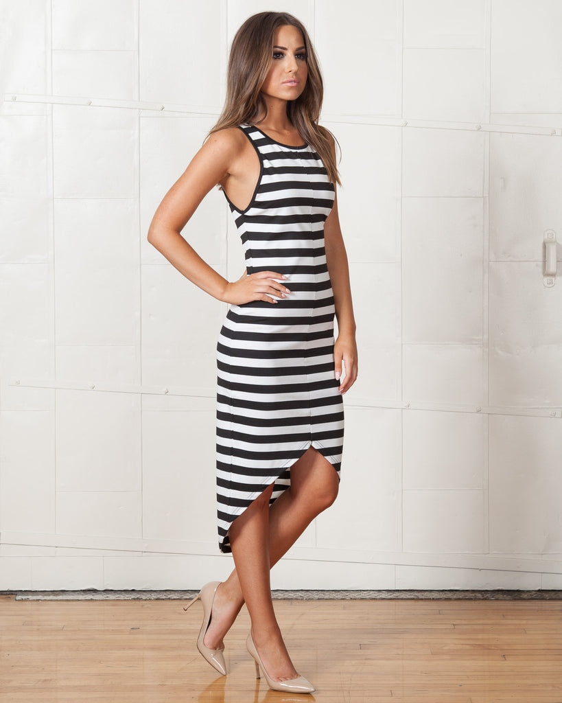 Fifth Label Fight For You Striped Dress