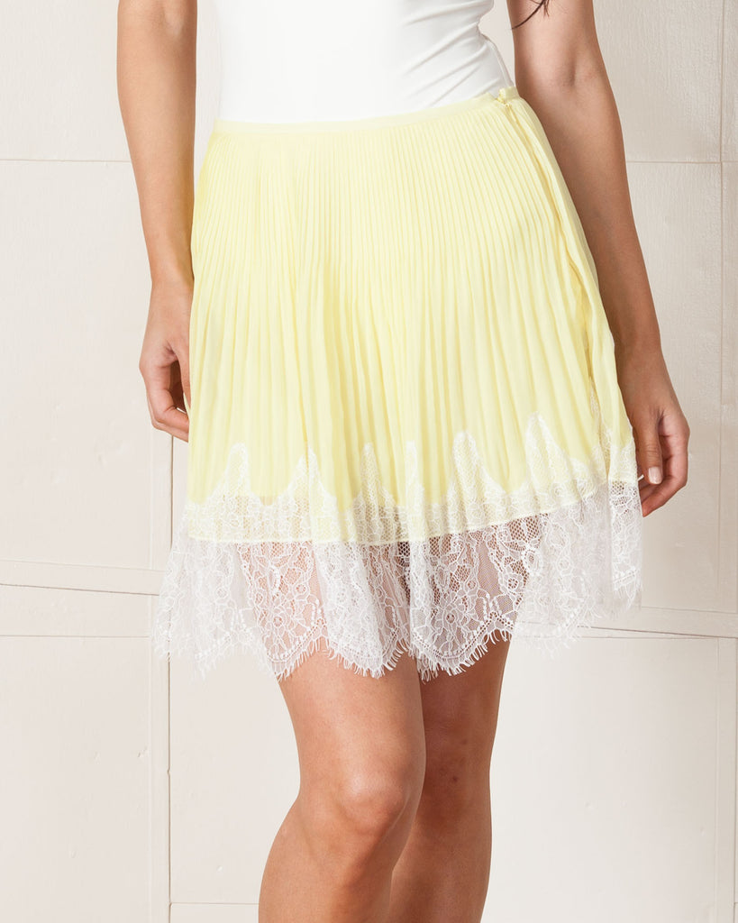 Saylor Perla Yellow Skirt