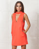 Cameo Say It Right Tangerine Dress