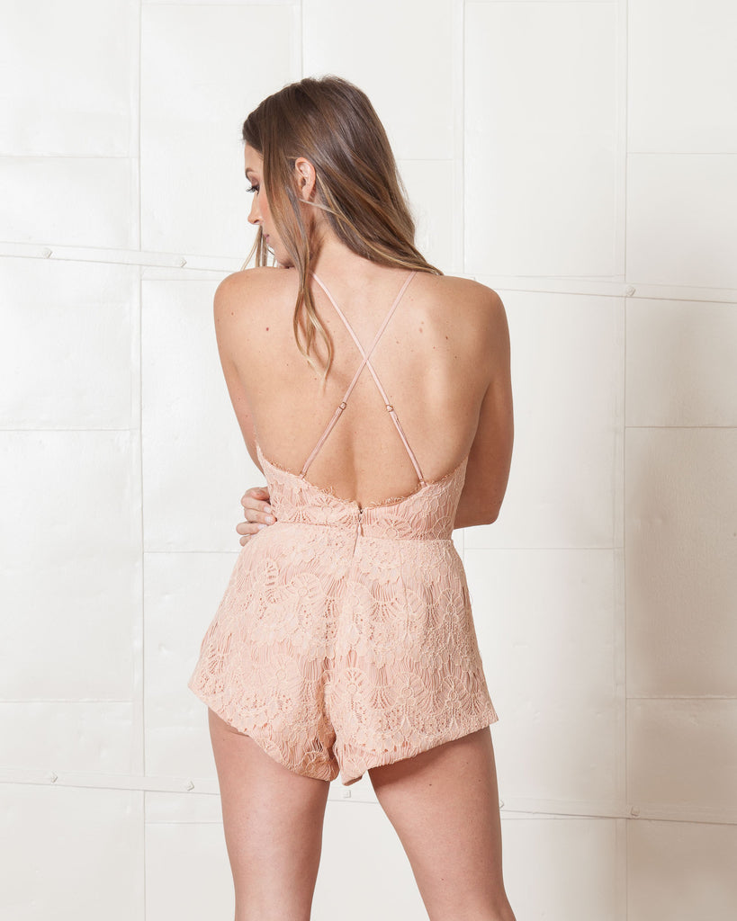 Stylestalker Blush Mermaid Playsuit
