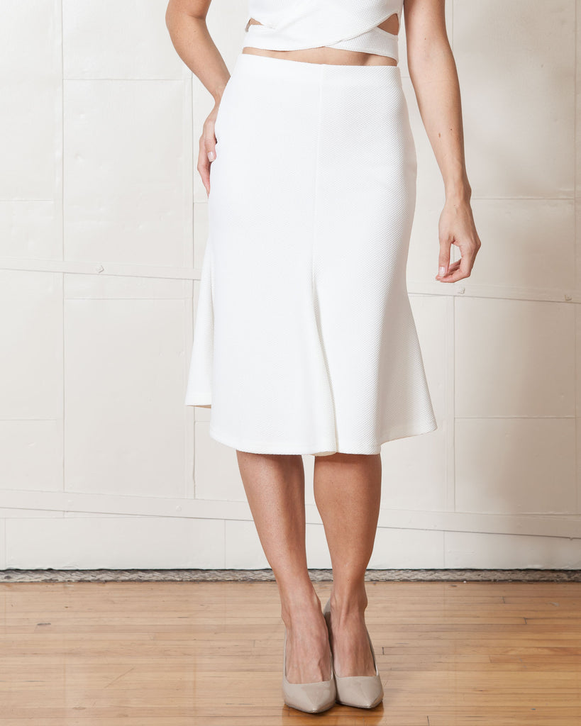 Fifth Label Ivory Starstruck Skirt