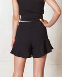 Madison Square Black Heart Breaker Swing Shorts