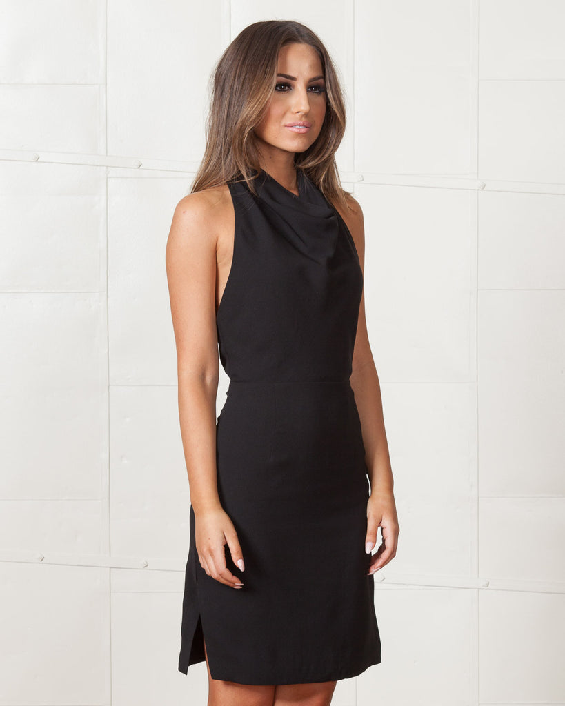 Finders Keepers Black Distant Lover Dress