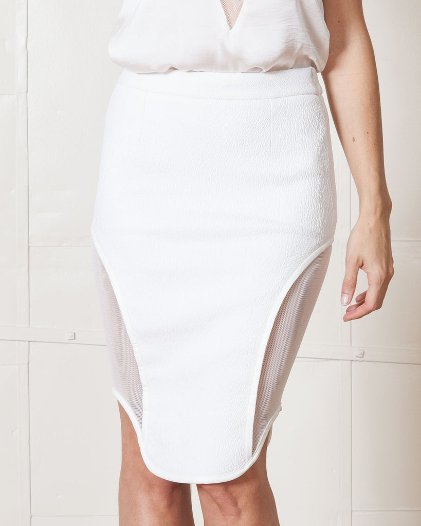 Asilio Night Of The Hunter White Skirt
