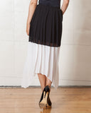 Keepsake No Trust Black & White Skirt