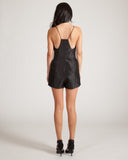 Cameo Man Down Black Romper