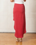 Stylestalker Earth Red Maxi Skirt