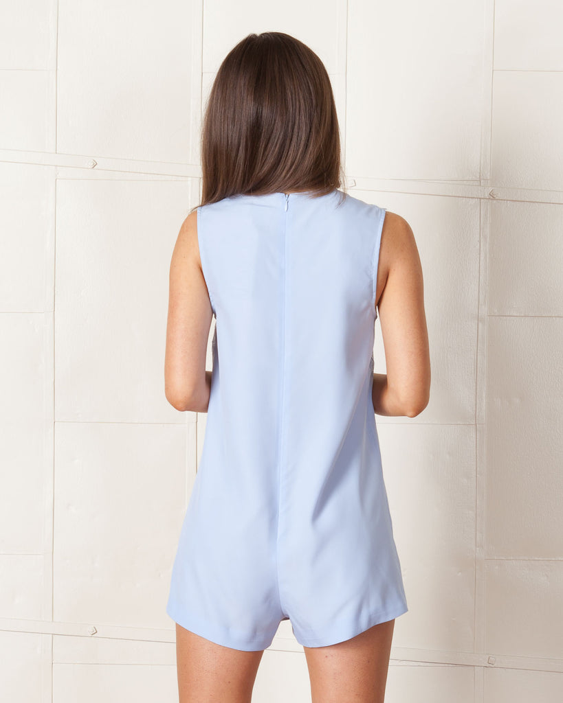 Keepsake Powder Blue Strange Desire Playsuit