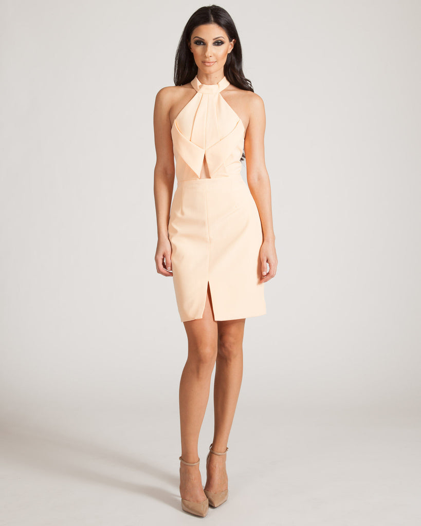 Finders Keepers Billie Jean Soft Apricot Dress