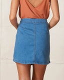 WYLDR Denim Alabama Skirt