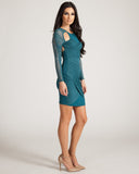 Stylestalker Your Body Teal Dress