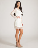 Jaggar White Dove Dress