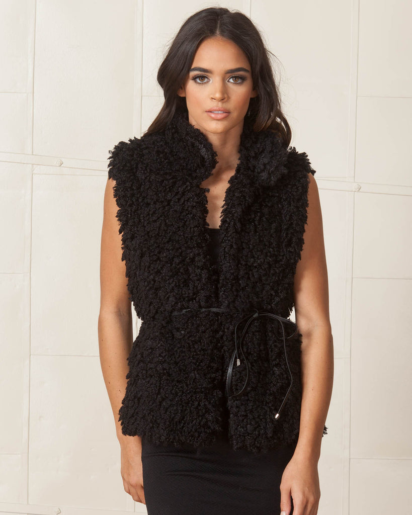 WYLDR Black Country Days Fluffy Gilet