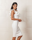 Twin Sister White Vixen Dress