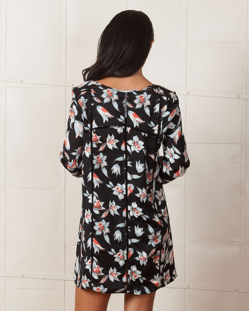 MINKPINK Keep Blooming Smock Dress