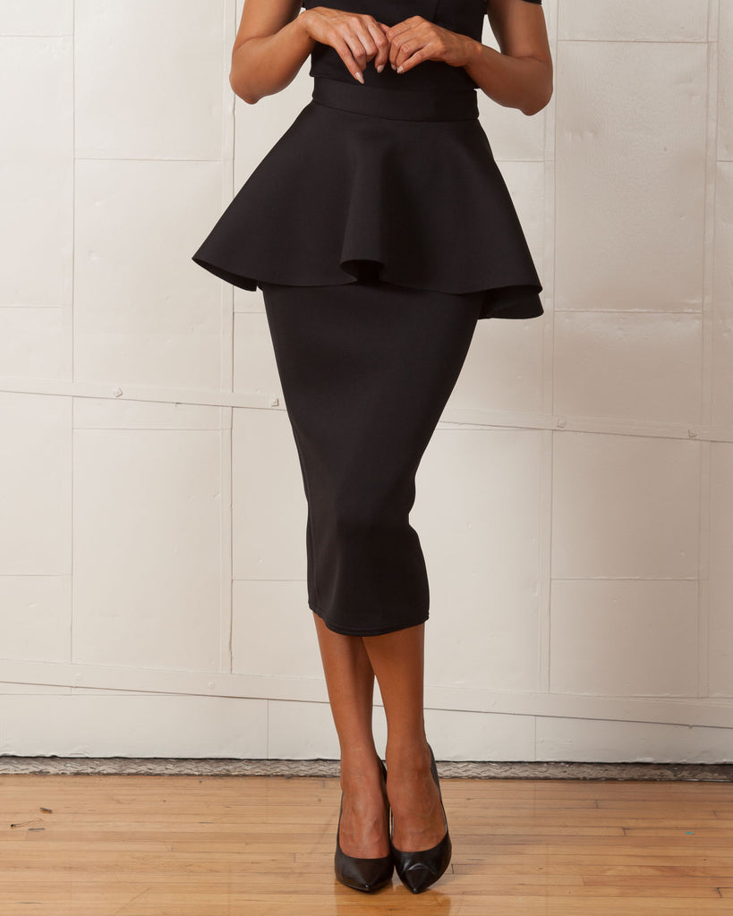 Twin Sister Black Sophia Skirt