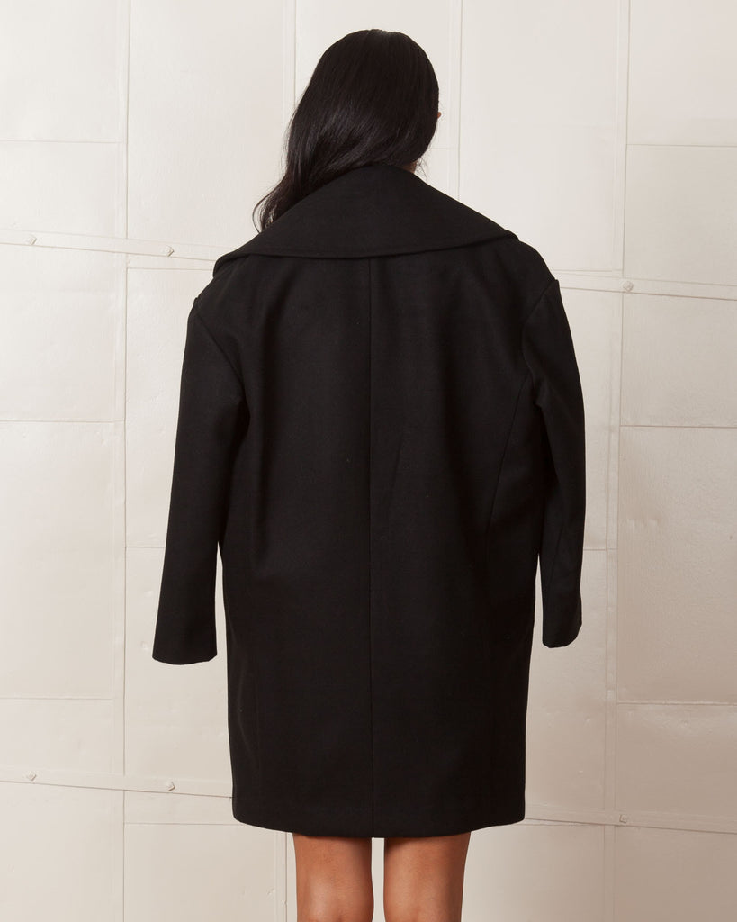 Fifth Label Black Lonely Soul Coat