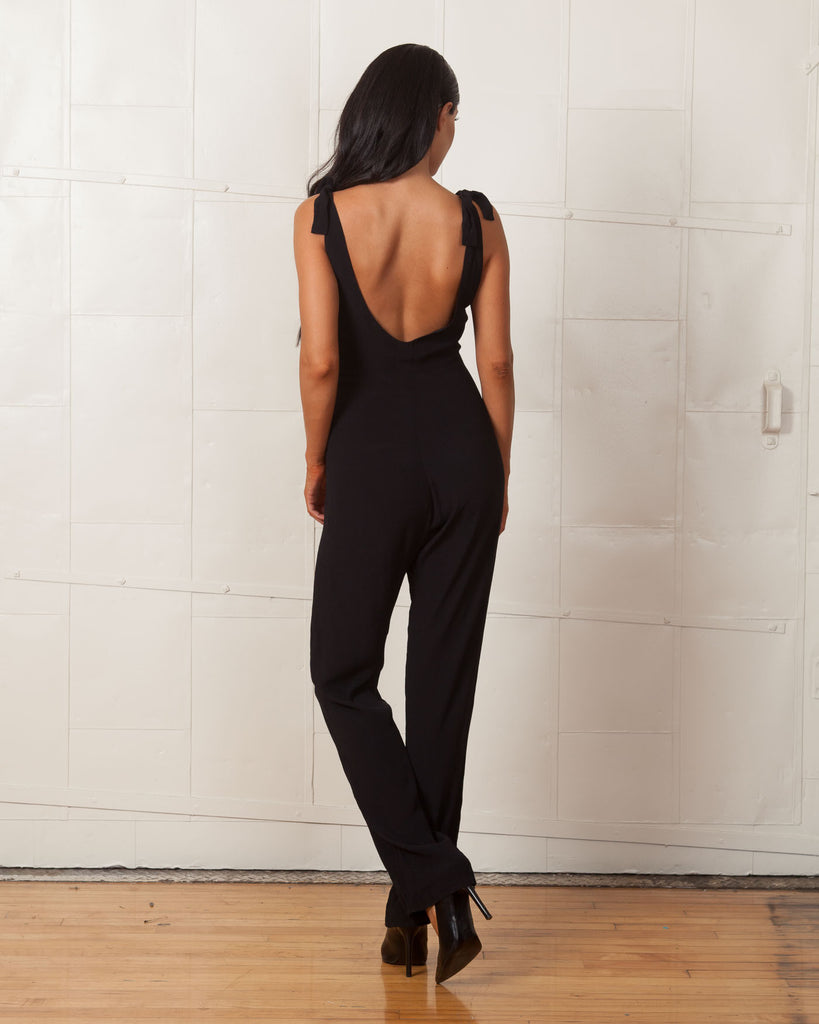 For Love And Lemons Black Midnight Tide Jumpsuit