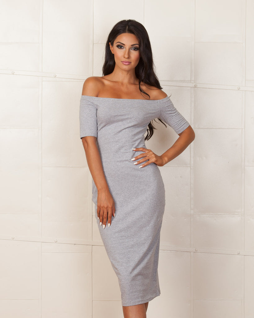 Fifth Label Grey Pyramid Dress