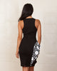 Elliatt Monochrome Mirror Dress