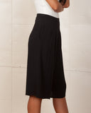 MINKPINK All The Way Black Culottes