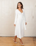 Fifth Label Just For Now White Wrap Dress