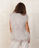 MINKPINK Endless Shaggy Vest