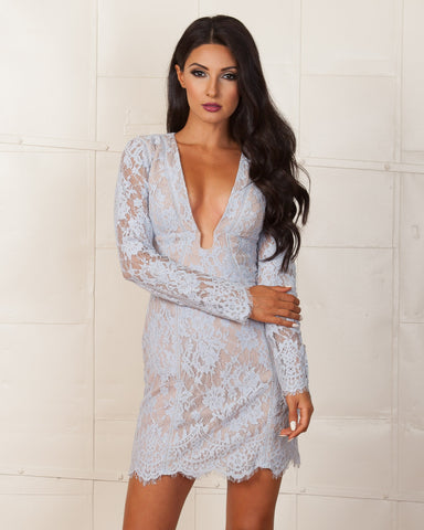 Cameo Sky Blue The Nights Dress