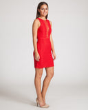 Stylestalker Athens Lace Dress-Red