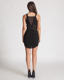 Three Of Something Black Single Fin Dress