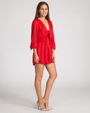 Wyldr Take The Lead Playsuit-Red