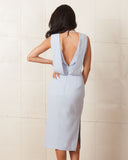 Keepsake Pastel Blue Origami Dress